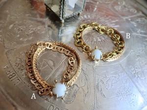 vintage bracelet layerd chain <WC-CL1 & CL2>