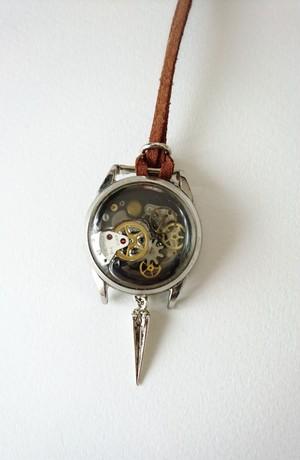 「時計店の引き出し」ネックレス