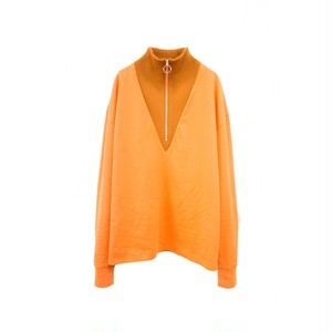 TTT MSW TURTLE NECK C/S ORANGE