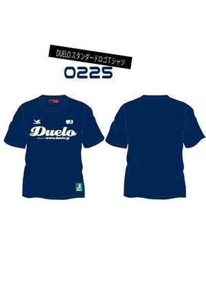 0225 スタンダード ロゴ プラTシャツ ネイビー(予約販売商品)※ご注文後約3週間後に発送商品※
