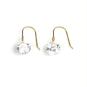 Bare Gem Hook Earrings