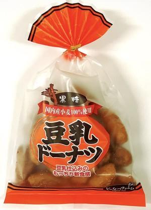 豆乳ドーナツ黒糖180g巾着 / どーなつファーム / 山田製菓