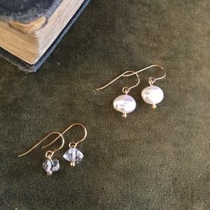 Owly.original pierce & earring