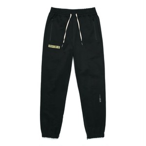 MIL ZIPPER JOGGER PANTS / BLACK