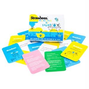 Strawbees ストロービーズ : Pocketful of Ideas – Creative card deck  ポケット・オブ・アイデア - クリエイティブ・カード・デッキ