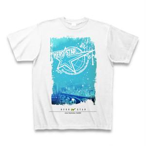 hero star Tシャツ (White&Shop photo blue)送料込
