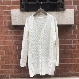 大人気♡HEART cable knit cardigan