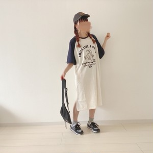 raglan  t-shirt dress[6/17n-29]