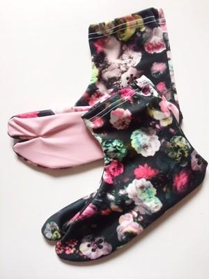 今日実オリジナルストレッチ足袋フラワー