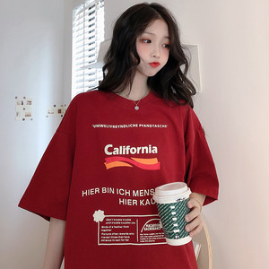 オーバーサイズロゴプリントTシャツ S1846