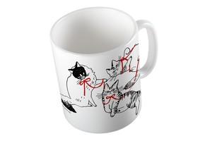 ねこ-マグカップ