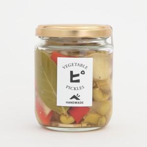 旬野菜のミックスピクルス  冬瓜,枝豆,パプリカ