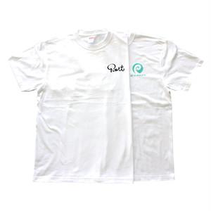 PORT OKINAWA 金のサッカーの神様チャレンジ Tシャツ 2PAC ポートオキナワ ホワイト
