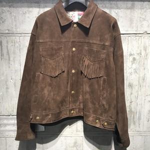 【kiminori morishita】Goat Suede Fringed Jacket