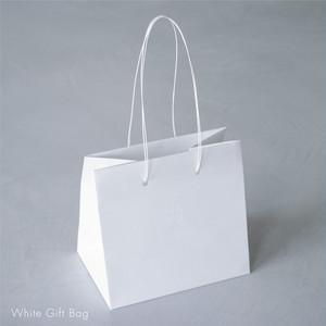 White Gift Bag お手さげ袋