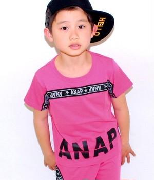 [キッズ] ロゴラインTシャツ(別売りセットアップ)