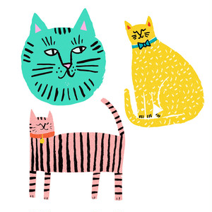 Cat Vinyl Sticker Pack