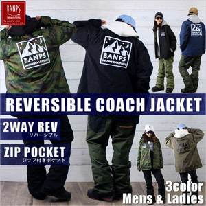 REVERSIBLE 2WAY COACHJACKET MT bp-78