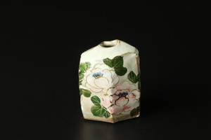 ミニ花生(芙蓉) 清水焼