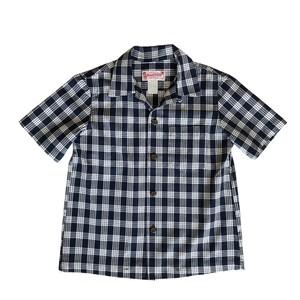 レディース&ボーイズ / オリジナル パラカシャツ / ネイビー