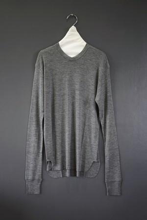 jonnlynx - wool v neck tee