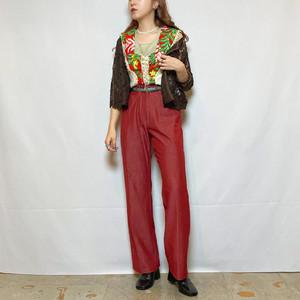 (LOOK) design straight pants