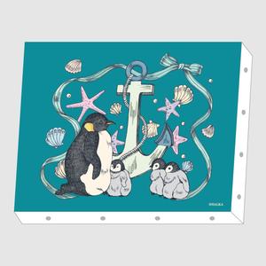 HALKA「ペンギン」アートキャンバス F0サイズ