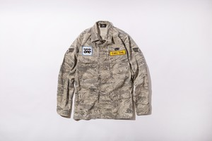 CHILL TIME ACU CAMO ARMY JACKET T-3