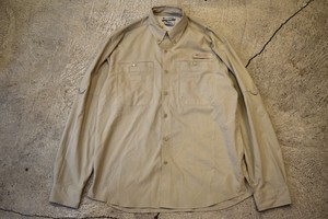 USED Columbia PFG Fishing shirt S 00s S0170