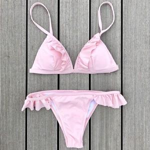 Bikini♡フリルビキニ ピンク GSB18S070PNK