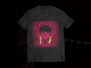 緋-AKASHI- T-shirt / black