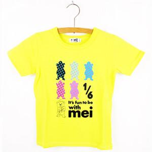 MEI KIDS BEAR DOT PRINT TEE(KME-000-166011)