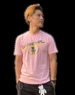 【SKANDHAL】CERCHIO Tシャツ 【ピンク】【新作】イタリアンウェア【送料無料】《M&W》
