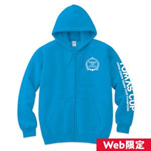 《Web限定カラー》【TOMAS CUP】オフィシャル パーカー(ブルー)