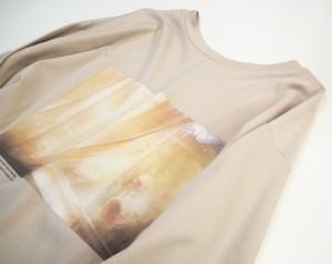 2way long sleeves T-shirt