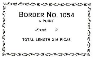 Border 1054  6pt
