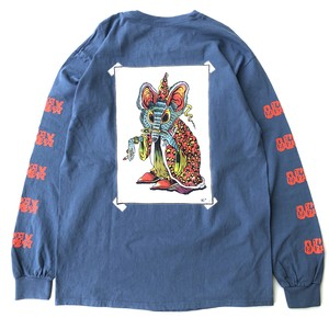 Magical Mouse longsleeve shirts BLUE GRAY