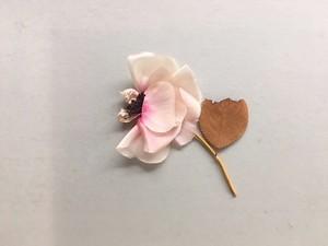 la fleur / a flat rose