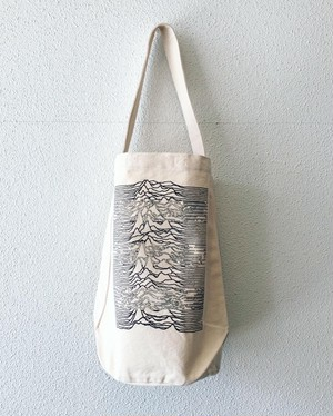 【19048】ONE SHOULDER TUBE TOTE (IVORY)