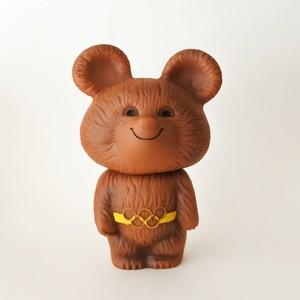 ミーシャのソフビ人形
