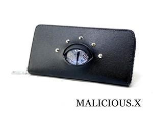 reptelis(D) eye wallet / gray marble(safiano)