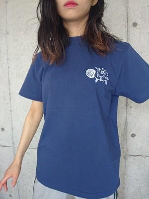 Yuki's Blue RosesオリジナルロゴTシャツ