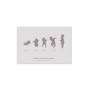 [NEW]シルエット ポストカード