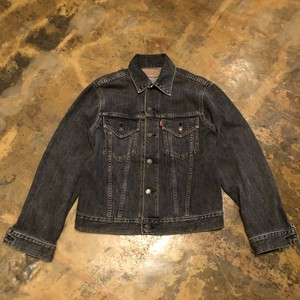 90s Levi's denim jacket / Black