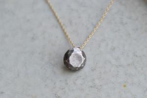 鈍色の石   (SV・K10YG・Pendant)