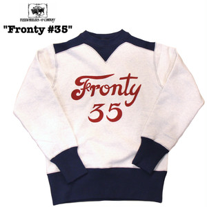 "FREEWHEELERS/フリーホイーラーズ POWER WEAR/パワーウェア ATHLETIC SWEAT SHIRTS ""Fronty #35"" #1834002"