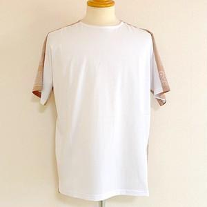 Switch Bandanna Fabric Cut & Sewn White × Beige