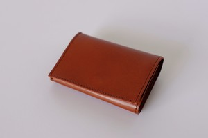 PLAY WALLET - LEATHER:VONOANILINE [CHOCOLATE]