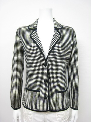 TAILORED KNIT JACKET (WILD SILK) / M
