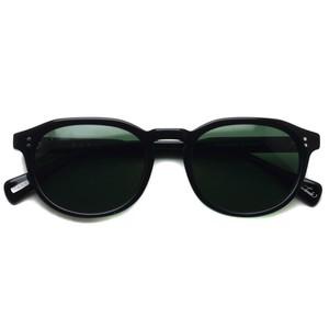 RAENoptics レイン / ROLLO / Crystal Black - Green ブラック-ダークグリーン偏光レンズ ボストンウェリントンサングラス